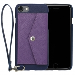 Rakuni for iPhone 7 Case Pocket Type ( Blue )