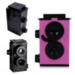 TY086 กล้องทอย สีชมพู Toy Camera โลโม่ DIY ไม่ต้องใช้ถ่าน ใช้ฟิล์ม 35mm (ฟิลม์ซื้อแยกต่างหาก)