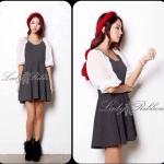 Two tone Smart & Casual Mini dress