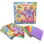 DI036 ของเล่นศิลปะ กิจกรรมยามว่าง เสริมสร้าง จิตนาการ Sticky Foam Art ซี่รีย์ Sea life