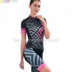 ชุดปั่นจักรยานผู้หญิง เสื้อปั่นจักรยาน พร้อมกางเกงปั่นจักรยาน Cheji 2017-05