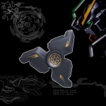 HF328 Fidget spinner -Hand spinner - GYRO (ไจโร) โลหะ Gundam