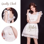 White Premium Little Lace style Cuty Fashion S159-99C06
