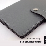Smokey Grey(เทา) - Bookbank Holder