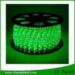 ไฟยาง LED Rope Light 36 leds แบบกลม 3 แกน สีเขียว