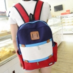 กระเป๋าเป้สะพายหลัง สีสันสดใสสไตล์เกาหลี