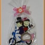 เปิดขวดแต่งงานขี่จักรยาน คละสี