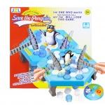 BO018 Penguin trap เกมทุบพื้นน้ำแข็ง ระวังให้ดีอย่าให้เพนกวินตกลงมา