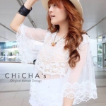 Lollita Lacy Blouse C159-49A08
