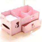 กล่องใส่ของจุกจิก กล่องใส่เครื่องสำอาง ใส่กระดาษทิชชู Box 002