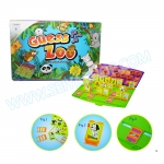 BO082 Guess ZOO เกมส์ทายสัตว์ เกมส์บอร์ด เสริมพัฒนาการ และ IQ EQ