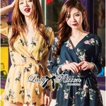 Lady Carolyn Sexy Flowery Printed Rope Jumpsuit L166-69E05