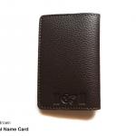 Secret Brown (น้ำตาลเข้ม) - Personal Name Card Holder