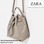 กระเป๋า Zara Bucket กระเป๋าหนัง ทรงขนมจีบ รุ่นใหม่ 2016 ยี่ห้อ ZARA แท้ พร้อมส่ง ที่ไทย กระเป๋าหนัง