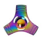HF193 Hand spinner - GYRO (ไจโร) -Fingertip Gyroscope โลหะ สีรุ้ง (30)