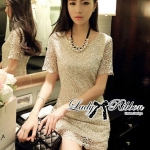 DR-LR-137 Lady Annie Ultimate Luxury Glitter Lace Dress