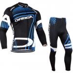 ชุดปั่นจักรยาน แขนยาว Orbea เสื้อปั่นจักรยาน และ กางเกงปั่นจักรยาน