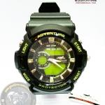 นาฬิกาข้อมือ US Submarine 2ระบบ (ดิจิตอล&เข็ม) สีดำเขียว กันน้ำ 30 เมตร