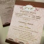 การ์ดแต่งงาน VIP-SCT หน้าเดียว (29-0101,29-0102,29-0106)