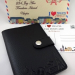 Pure Black(ดำ) - Passport Holder
