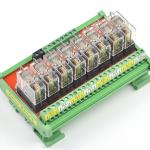 ชุด Omron relay module 24V 10A จำนวน 8 ช่อง