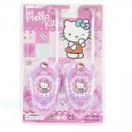 Z089 ของเล่น วิทยุสื่อสาร Hello Kitty WALKIE TALKIE