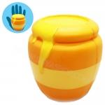 I252 สกุชชี่ โถน้ำผึ้ง ขนาด 12 cm (super Soft) ลิขสิทธิ์แท้ By Heart for Kid