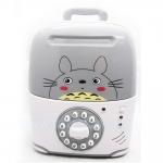 KA041 กระปุกออมสิน ตู้เซฟกระเป๋าเดินทาง ดูดเงินอัตโนมัติ Totoro