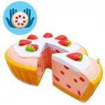 I258 สกุชชี่ Starberry pie By Chawa ขนาด 15 cm (Super Soft) ลิขสิทธิ์แท้