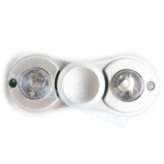 HF187-Fidget spinner -Hand spinner - GYRO (ไจโร) โลหะ เคลือบสี มีไฟ