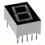 7 SEGMENT RED LED DISPLAY COMMON ANODE