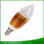 หลอดไฟ LED E14 Candle Bulb Light 3w Type A