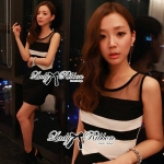 DR-LR-056 Lady Charice Sexy Lusty Body Con Mini Dress