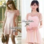 Lady Sweet Chic Day-to-Night Mini Dress
