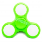 HF037-1 Hand spinner - GYRO (ไจโร) -Fingertip Gyroscope Basic มีไฟ 3 step สี เขียว