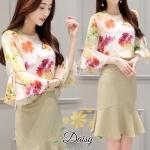 Daisy Italian silk soft and silky smooth dress