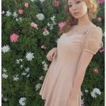 DC-PP-001 Lady Sweet Chic Day-to-Night Mini Dress
