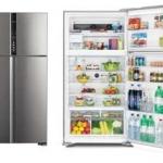 ตู้เย็น HITACHI รุ่น R-V600PWX ( 21.2 คิว / 600 ลิตร ) แถมกระเป๋าเดินทางล้อลาก