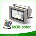 สปอร์ตไลท์ LED Flood Light 10W RGB เปลี่ยนสีได้ด้วยรีโมทคอนโทรล