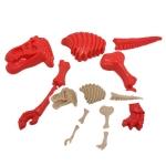 P064 ชุดอุปรณ์ ทรายนิ่ม Soft Sand Play Sand ชุดโครงกระดูกไดโนเสาร์ (ไม่รวมทราย)