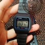นาฬิการสายยางสีดำ ดิจิตอล Fashion02