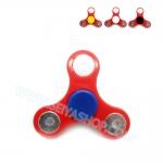 HF065 Hand spinner - GYRO (ไจโร) -Fingertip Gyroscope starter สีแดง หมุดคละสี