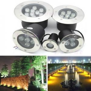โคมไฟ LED ส่องต้นไม้ แบบฝังพื้น