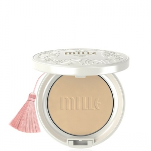 Mille Whitening Rose BB Powder Pact No.2
