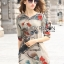 Lady Renee Smart Casual Floral Printed Embroidered Dress L199-69B11 thumbnail 5