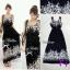Maxi Dress แมกซี่เดรสตัวยาวแขนกุด thumbnail 3
