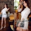 DR-TW1-027 Lady May Classic Elegant Lace Dress thumbnail 8