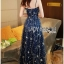 Lady Leslie Super Stars Sequin Embroidered Tulle Maxi Dress L245-89C01 thumbnail 10