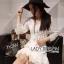 Lady Eva Classic White Polyester and Lace Ruffle Dress L250-79B02 thumbnail 7