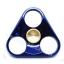 HF094 Hand spinner - GYRO (ไจโร) -Fingertip Gyroscope โลหะ รุ่น Triangle สี น้ำเงิน thumbnail 1